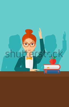 Foto stock: Assinatura · negócio · documentos · empresário · contrato · escritório