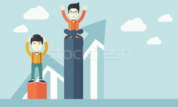 Two chinese businessmen. Stock photo © RAStudio