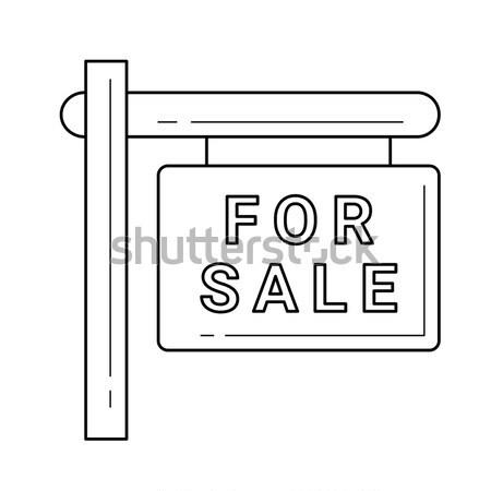 Sólido unidad línea icono esquinas web Foto stock © RAStudio