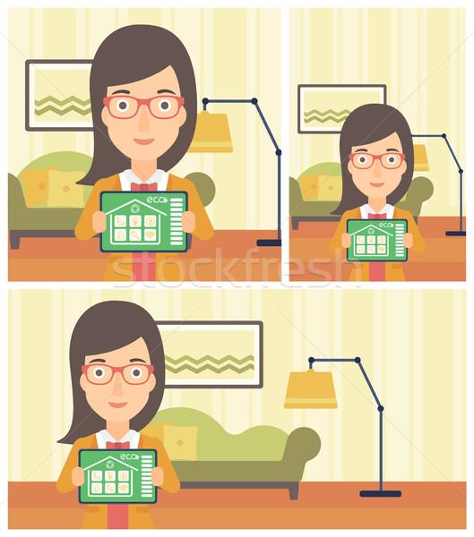 Smart домой автоматизация Сток-фото © RAStudio