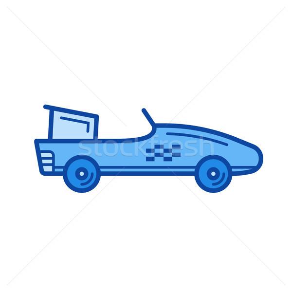 Una formula auto line icona vettore isolato Foto d'archivio © RAStudio
