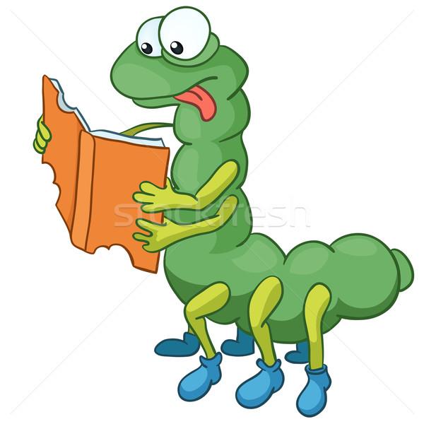 Cartoon Character Caterpillar Stock photo © RAStudio