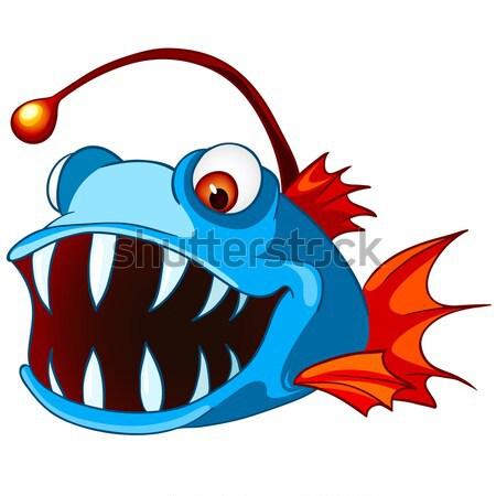 Cartoon Character Fish Stock photo © RAStudio