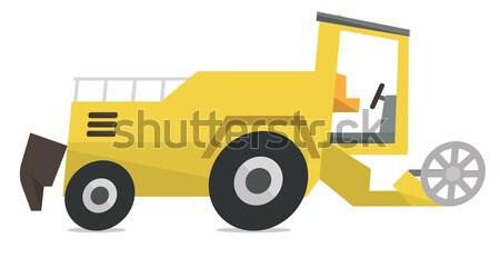 Modern combine harvester Stock photo © RAStudio