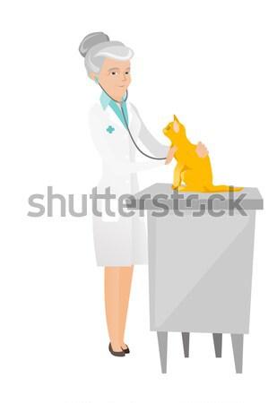 ветеринар домашние больницу врач ветеринар Сток-фото © RAStudio