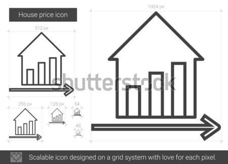 New price line icon. Stock photo © RAStudio
