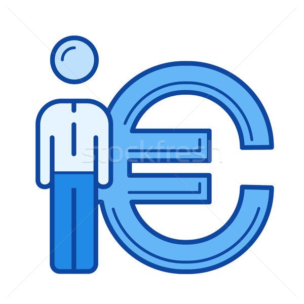 Currency market line icon. Stock photo © RAStudio