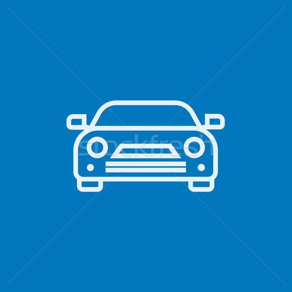 Car line icon. Stock photo © RAStudio
