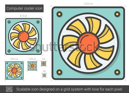 Cool components of a vector photographs