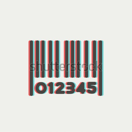 Barcode sketch icon. Stock photo © RAStudio