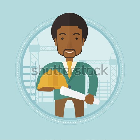 Angry boss pointing at wrist watch. Stock photo © RAStudio