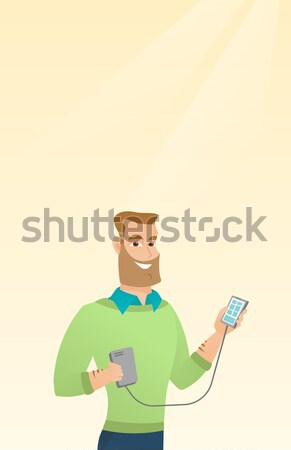 Man suffering from diarrhea or constipation. Stock photo © RAStudio