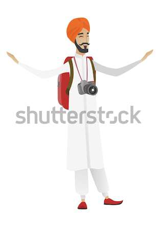 Jonge reiziger hand Stockfoto © RAStudio