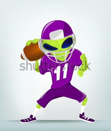 Cartoon_Character_ALIEN_059_2_CS5 Stock photo © RAStudio