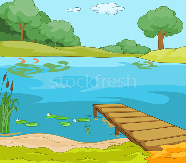 Lake Shore Stock photo © RAStudio