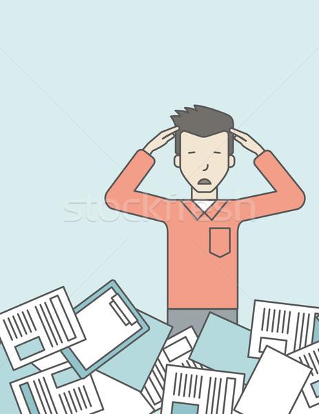 Work overload. Stock photo © RAStudio