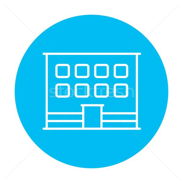 辦公樓 線 圖標 網頁 移動 信息圖表 商業照片 © RAStudio