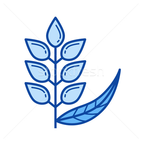Wheat ears line icon. Stock photo © RAStudio