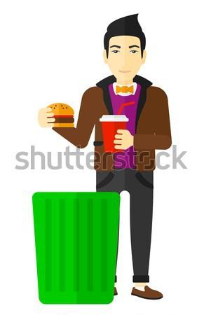 Streesful employee Stock photo © RAStudio