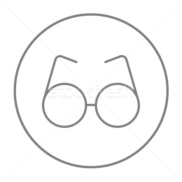 Eyeglasses line icon. Stock photo © RAStudio