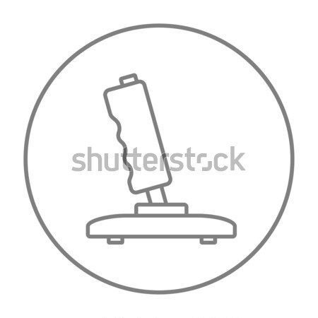 Joystick hat ikon köşeler web hareketli Stok fotoğraf © RAStudio