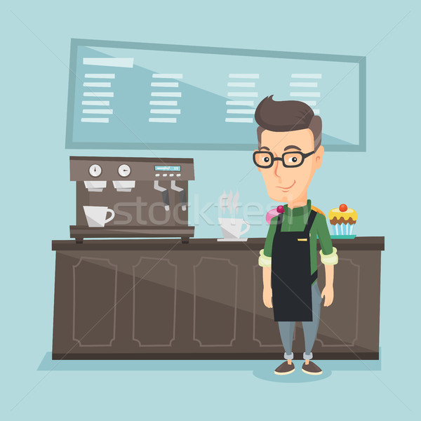 Coffee shop Stock Vectors, Illustrations and Cliparts