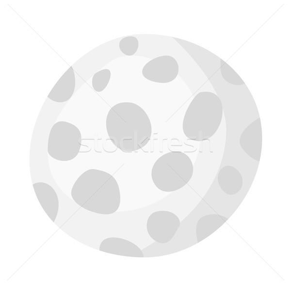 Pallina da golf vettore cartoon illustrazione isolato bianco Foto d'archivio © RAStudio