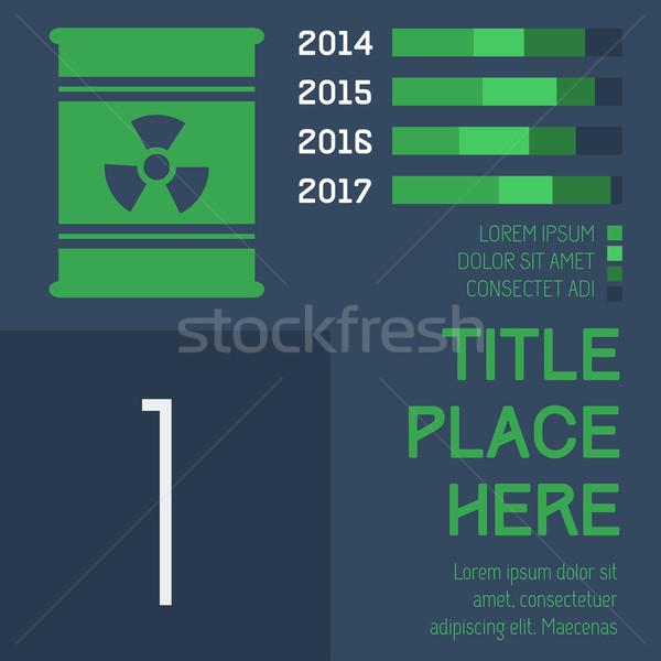 Communie eps 10 technologie groene Stockfoto © RAStudio