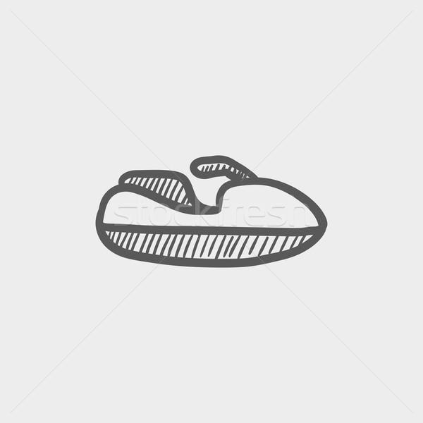 Speedboat sketch icon Stock photo © RAStudio