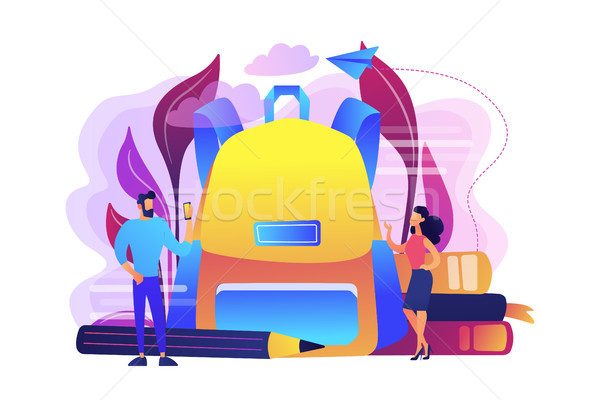 Back to school outfits concept vector illustration. Stock photo © RAStudio