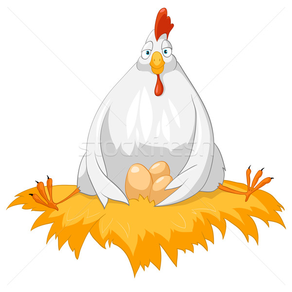 Cartoon Character Chicken Stock photo © RAStudio