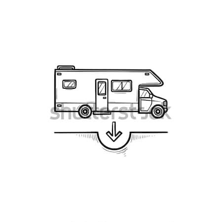 линия икона веб мобильных Инфографика вектора Сток-фото © RAStudio