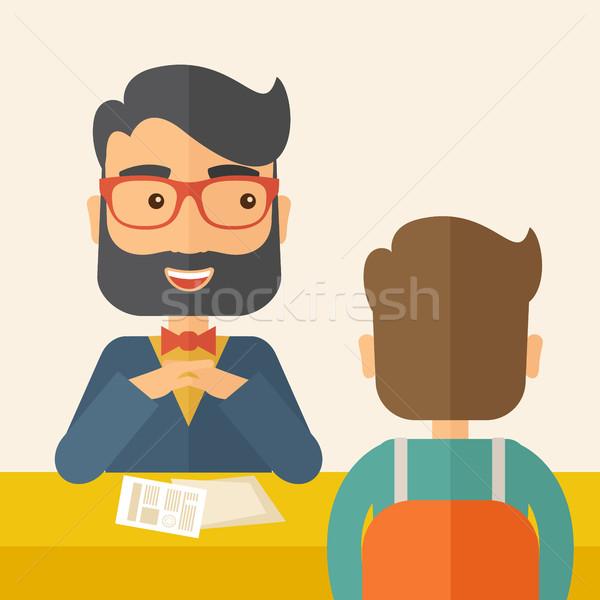 Job interview Stock photo © RAStudio