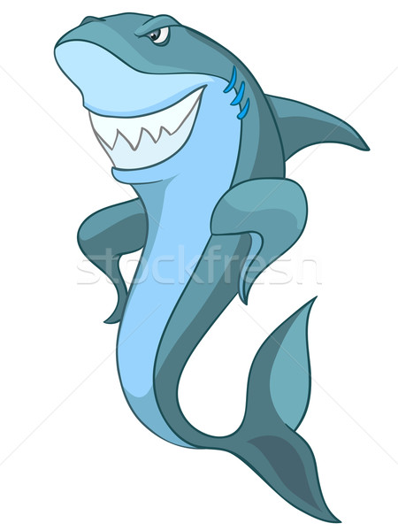 Cartoon Character Shark Stock photo © RAStudio