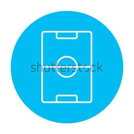Stadium layout line icon. Stock photo © RAStudio