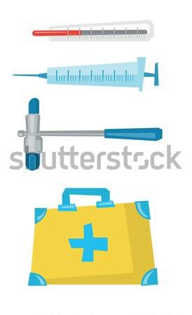 Equipamentos médicos vetor projeto ilustração isolado Foto stock © RAStudio