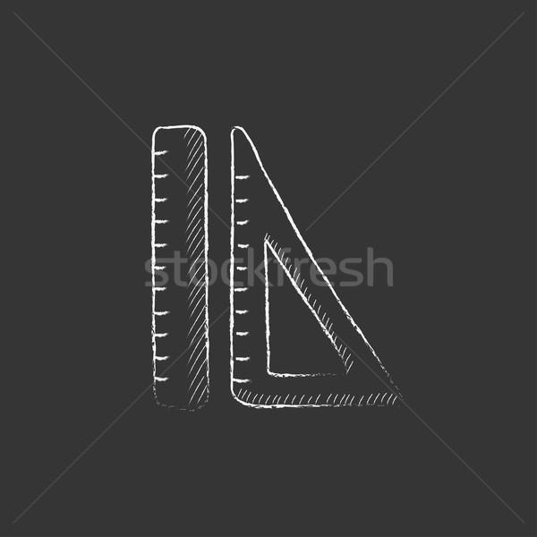 Kredy ikona wektora odizolowany Zdjęcia stock © RAStudio