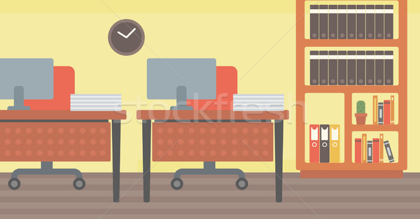 Background of office workplace. Stock photo © RAStudio