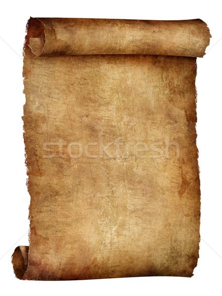 古い紙 テクスチャ スクロール コンピューターグラフィックス 紙 デザイン ストックフォト © RAStudio