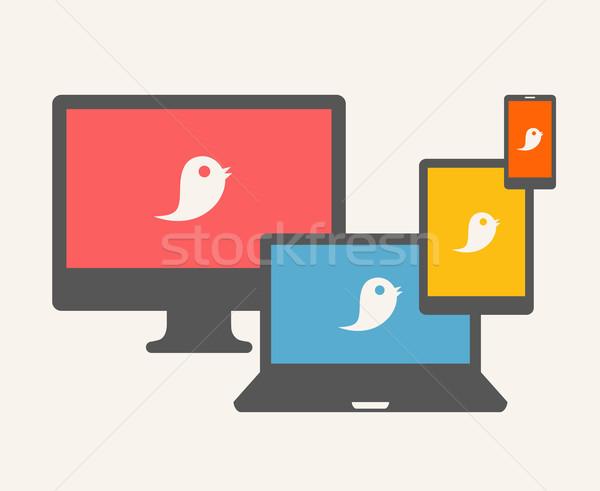 Chat Concept. Stock photo © RAStudio