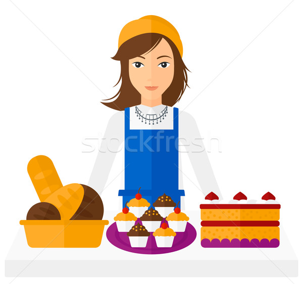 Successful small business owner. Stock photo © RAStudio