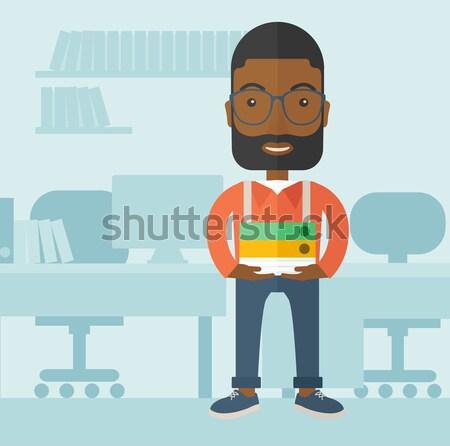 Office clerk. Stock photo © RAStudio