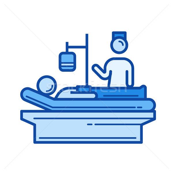 Nursing line icon. Stock photo © RAStudio
