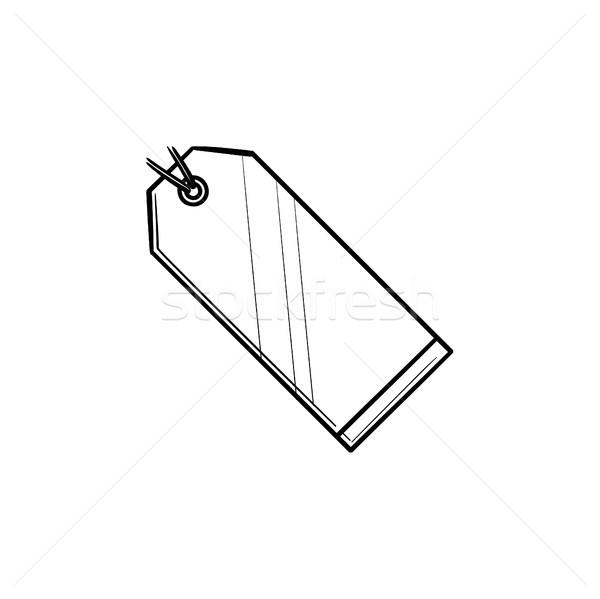 価格 タグ 手描き いたずら書き アイコン ストックフォト © RAStudio