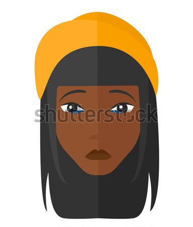 Grieving woman with eyes closed. Stock photo © RAStudio