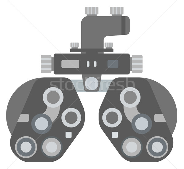 Optische medische oog onderzoek vector Stockfoto © RAStudio