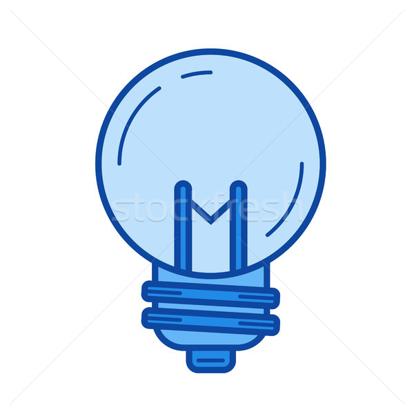 Idea bulb line icon. Stock photo © RAStudio