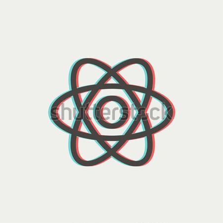 原子 行 アイコン コーナー ウェブ 携帯 ストックフォト © RAStudio