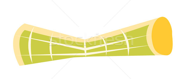 Rolled up tourist map vector cartoon illustration. Stock photo © RAStudio