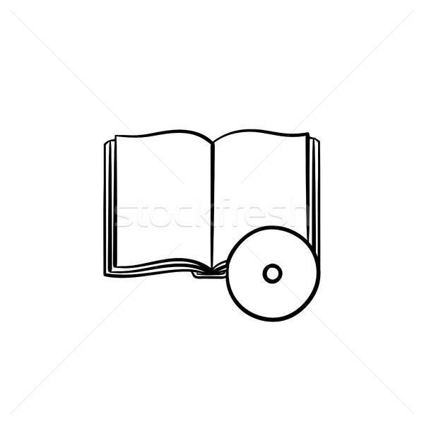 Audiobook hand drawn sketch icon. Stock photo © RAStudio